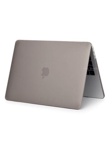 """Mcstorey Yeni MacBook Pro Touchbarlı A1706 A1708 A1989 A2159 13.3"""" Kılıf Kapak Hard case Mat Gri"""